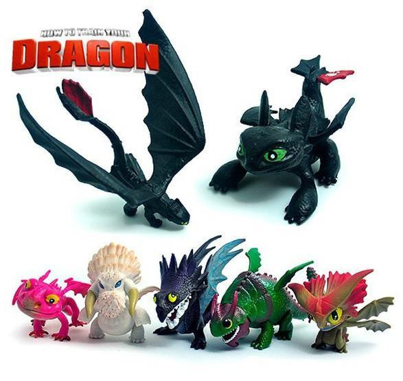 8 pcs ensemble Anime Comment dresser Votre Dragon 2 Action Figure jouets Nuit Fury Edente Gronckle f14d37b6 5dbf 4adf bdcc e50d674fd683 1 Lot De 8 Figurines Dragons - Livraison Gratuite !