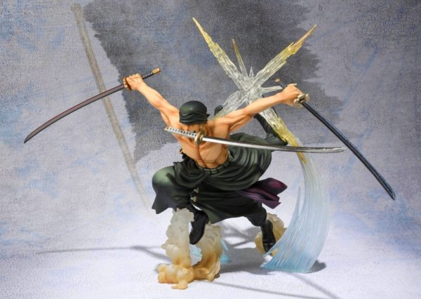914vWAW DCL. SL1500 Figurine Zoro Battle Version One Piece - Livraison Gratuite !