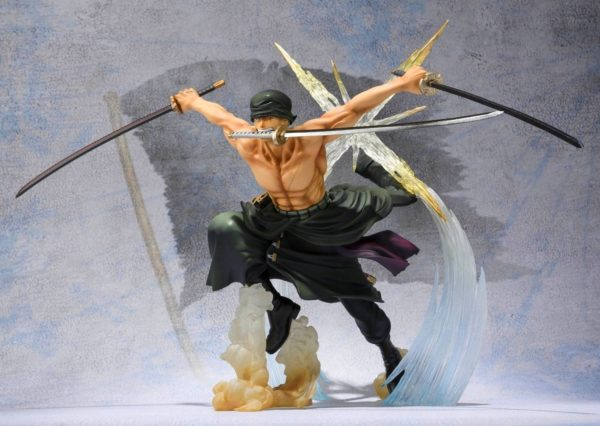 91R70uNuBpL. SL1500 Figurine Zoro Battle Version One Piece - Livraison Gratuite !