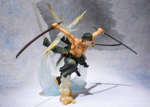 91V0o6Ho5bL. SL1500 Figurine Zoro Battle Version One Piece - Livraison Gratuite !