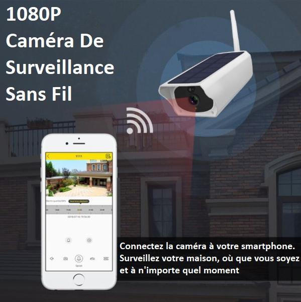 9 0cc55596 f353 444e b45f d21b4735ad95 Caméra De Surveillance Sans Fil Solaire Camesafe™