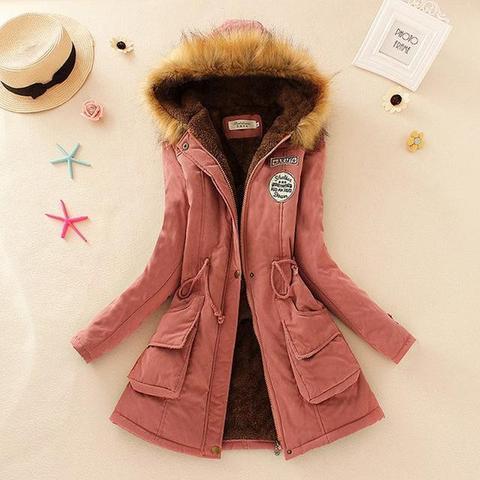 Superbe manteau pour femme 2019 Minute Mode Rose L