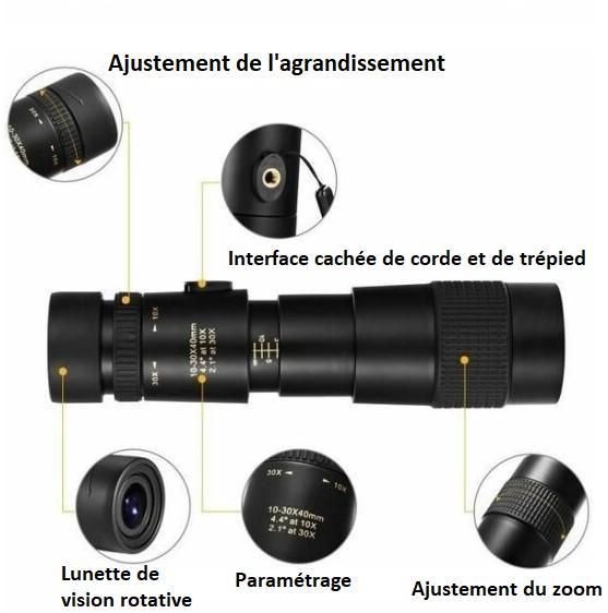 A3 d86fbf6b 265e 43ed b3d0 62edecdf513a Télescope Monoculaire Étanche À Haute Définition