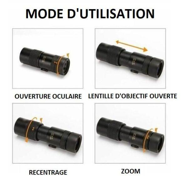 A4 706d976e 0a02 41e9 ae55 c083f06856de Télescope Monoculaire Étanche À Haute Définition