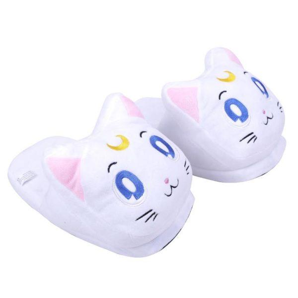 Anime Cartoon Sailor Moon Luna Artemis En Peluche Pantoufles Chaussures Accueil Maison D hiver Pantoufles En 2951b0e1 ceee 4891 8f78 e60a0c82268f Pantoufles Chat Sailor Moon (Luna/ Diana/ Artemis) - Livraison Gratuite !
