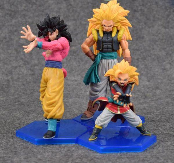 Anime Dragon Ball GT Super Saiyan 4 Sun Goku Gogeta Kakarotto PVC Action Figure collection Toy.jpg 640x640 3dc4e1ef 0e1c 4c7b 9998 2da405ecea98 1 Lot De 3 Figurines Super Saiyan Gogeta Dragon Ball Z - Livraison Gratuite !