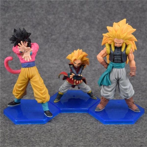 Anime Dragon Ball GT Super Saiyan 4 Sun Goku Gogeta Kakarotto PVC Action Figure collection Toy 2 4ea4795b 9742 49d4 b929 f890eb5d669a 1 Lot De 3 Figurines Super Saiyan Gogeta Dragon Ball Z - Livraison Gratuite !
