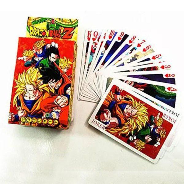 Anime Dragon Ball Z Super Saiyan Goku Poker Cartes A Jouer PVC Figure Jouets 8X6 CM 1 7d1d042b 49dc 40e9 91e7 37a0f8111d1d Carte Dragon Ball Z (3 Modèles) - Livraison Gratuite !