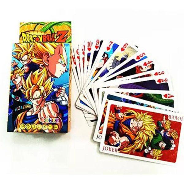Anime Dragon Ball Z Super Saiyan Goku Poker Cartes A Jouer PVC Figure Jouets 8X6 CM 3c1d9973 dee4 45a7 97b5 06a2c069fba3 Carte Dragon Ball Z (3 Modèles) - Livraison Gratuite !