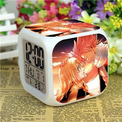 Anime Fairy Tail Led Natsu gris Action Figure reveil Glowing Despertador numerique Saat horloges Collection modele b1b5dae8 084c 49e2 ad92 cd2f13bc69e0 Horloge/Réveil Numérique Fairy Tail - Livraison Gratuite !
