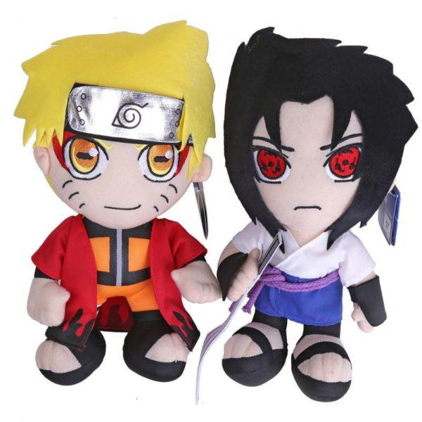 Anime Naruto Uzumaki Naruto Uchiha Sasuke Jouets En Peluche Bourr eacute Peluche Naruto Uzumaki Uchiha Sasuke 30 Cm (2 Personnages) - Livraison Gratuite !