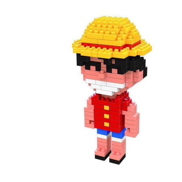 Anime One Piece Figure Jouet Building Block DIY Mini Modele Bloc de diamant 5 style Luffy 3dca0d83 0a67 4d4d bb72 1951bb1d1113 Figurine Lego One Piece (4 Personnages Disponibles) - Livraison Gratuite !