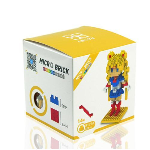 Anime Sailor Moon Cristal Figure Jouet BRICOLAGE Mini Modele Diamant Building Blocks 5 Style Tsukino Usagi 549a95c8 9ded 4a20 882d fd37bce356c7 Figurine Lego Sailor Moon (5 Personnages) - Livraison Gratuite !
