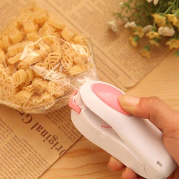 Appareildemisesousvide Un Mini Scelleur Compatible Avec Tous Les Sac Plastiques