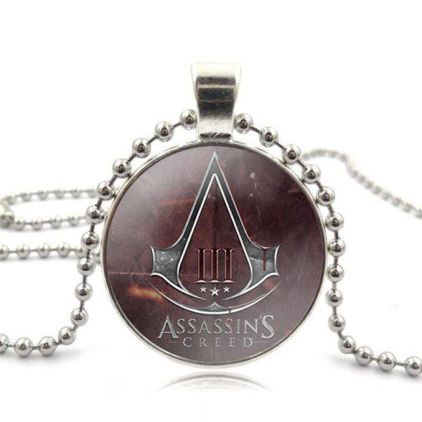 Assassins Creed Verre Cabochon Pendentif Collier Noir Perle Chaine Long Collier Femmes Bijoux 394abbe3 ac9b 4c6f 8449 d98e2ad3de82 Collier Assassin's Creed Verre Cabochon (2 Couleurs) - Livraison Gratuite !
