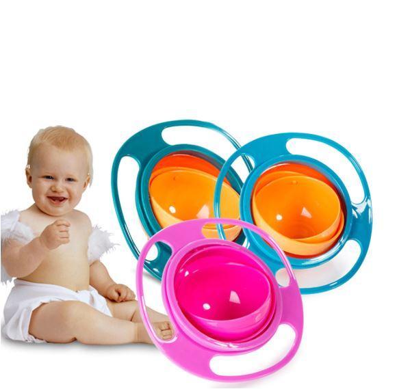 B0 Bol Pour Bébé Anti-Déversement - Rotation À 360°