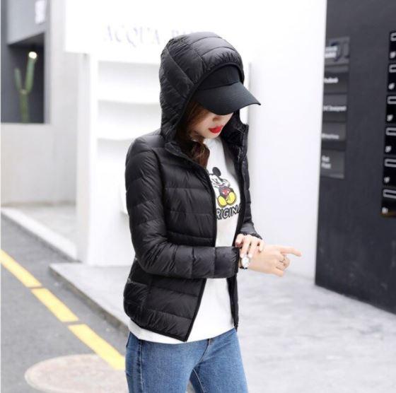 Veste à Capuche Légère Site Vêtements Noir M