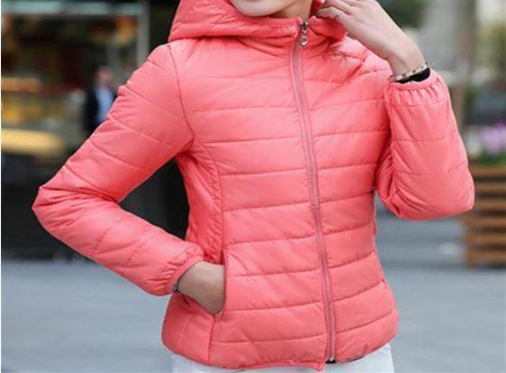 Veste à Capuche Légère Site Vêtements Orange M