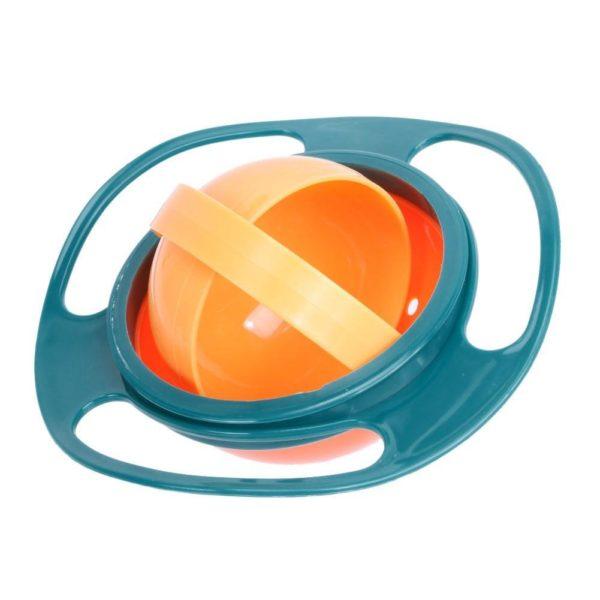 Bol Magique Pour Bébé - Rotation à 360° Raton Malin Bleu foncé