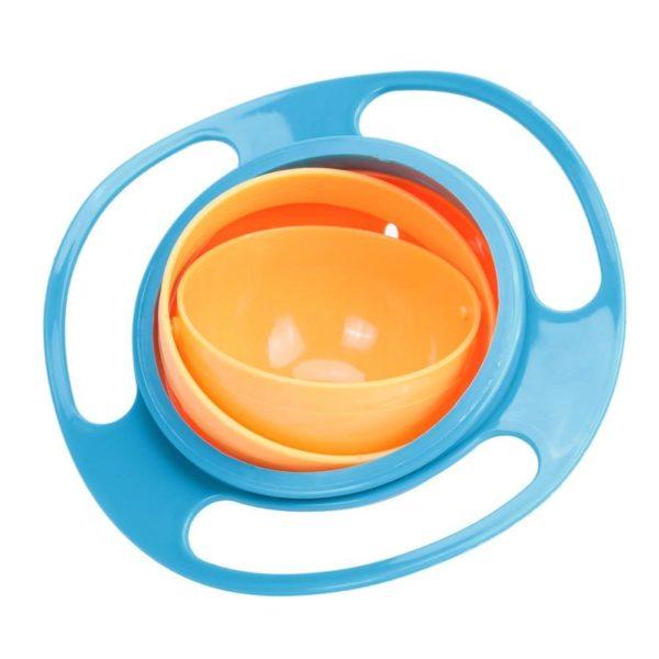 Bol Magique Pour Bébé - Rotation à 360° Raton Malin Bleu clair