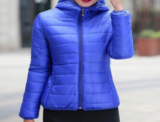 Veste à Capuche Légère Site Vêtements Bleu clair M