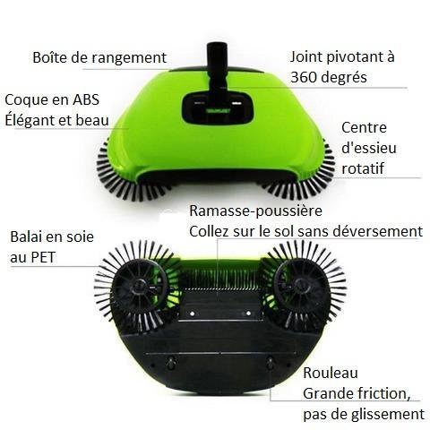 BA2 Dispositif De Balayage De Haute Technologie (Nettoyant Sols)