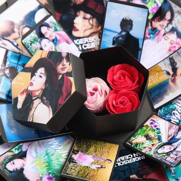BC8 Boîte Album-Photos Surprise