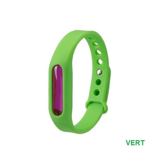 BRA5 Bracelet Anti-Moustiques Et Anti-Parasitaire (Protection Avancée)