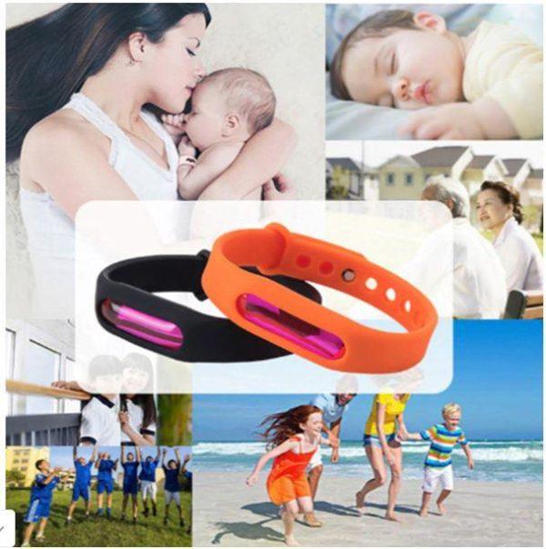 BRA8 Bracelet Anti-Moustiques Et Anti-Parasitaire (Protection Avancée)