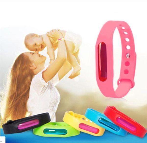 BRA9 Bracelet Anti-Moustiques Et Anti-Parasitaire (Protection Avancée)