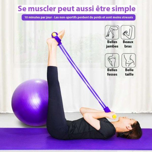 BYF 10 Bande De Résistance Pour Yoga Et Fitness