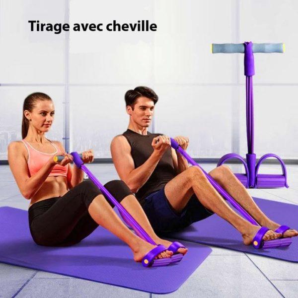 BYF 8 Bande De Résistance Pour Yoga Et Fitness