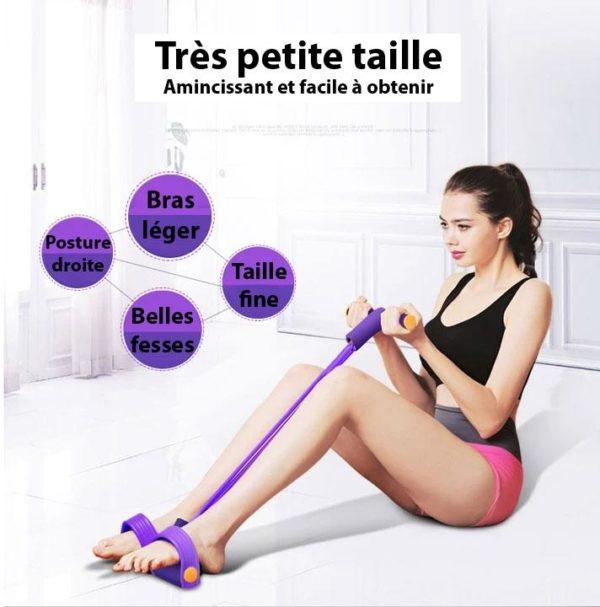 BYF 9 Bande De Résistance Pour Yoga Et Fitness