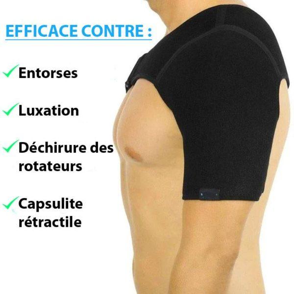 Brassiere 1 Attelle D'épaule Orthopédique