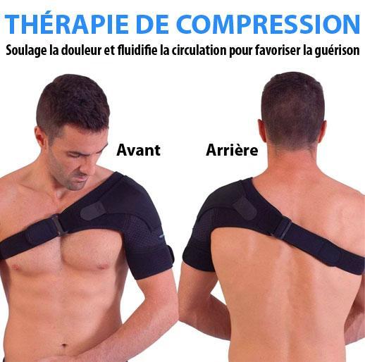 Brassiere 2 Attelle D'épaule Orthopédique