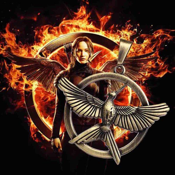 Bronze Leather black Rope The Hunger Games Alloy Choker Necklace Jay Jewelry Bird Mock Necklaces Pendants 8417fb5f af58 49e5 9c76 6d635090c8dc Collier Mockingjay Le Geai Moqueur En Cuir - Hunger Games La Révolte - Livraison Gratuite !