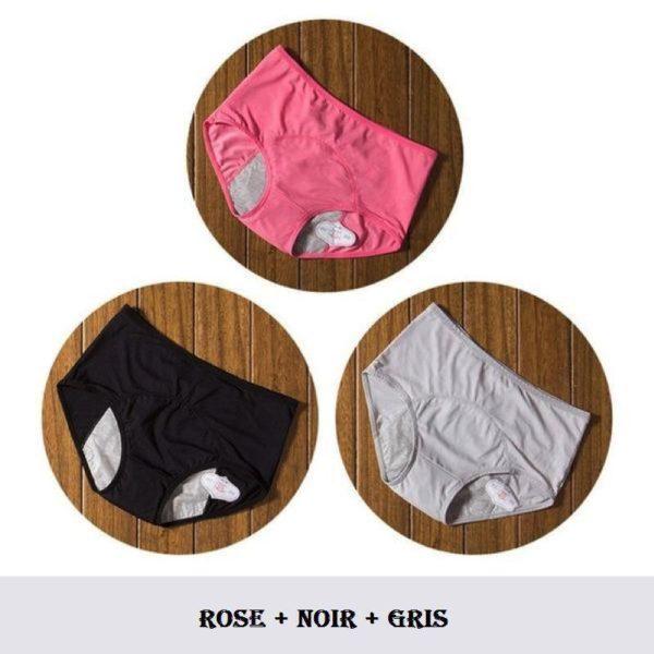 C19 Culottes Menstruelles (Lot De 3)