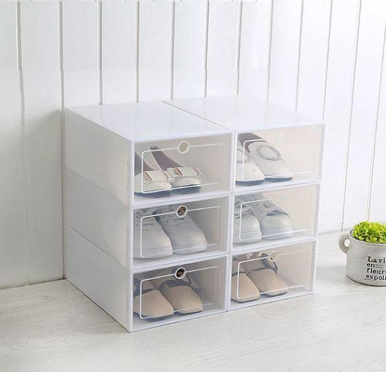 C1 6fcff0ac 3388 4e81 bcd8 bc0029129926 Boîtes De Rangement Pour Chaussures (Lot De 3)
