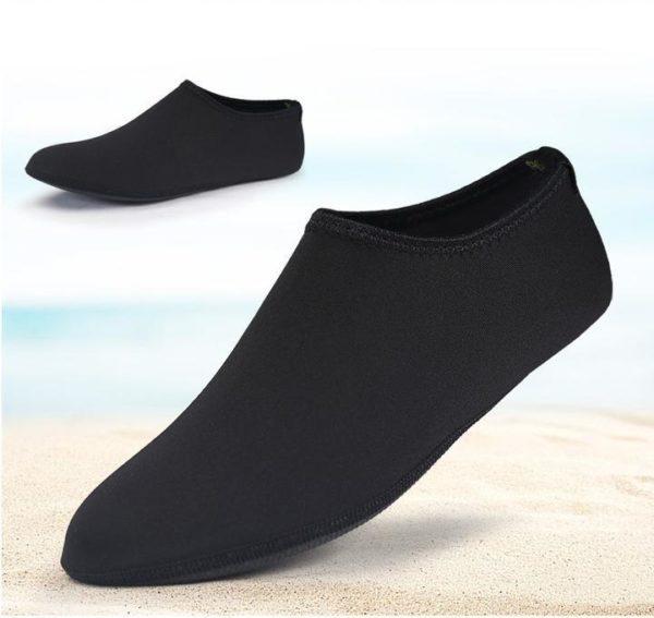 Chaussettes Aquatiques à Séchage Rapide Pieds - Natation - Plage - Surf Raton Malin Noir 35-36