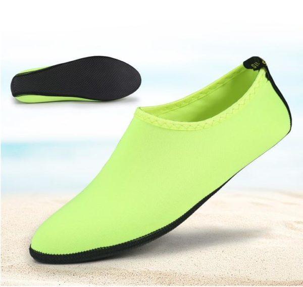 Chaussettes Aquatiques à Séchage Rapide Pieds - Natation - Plage - Surf Raton Malin Vert 35-36