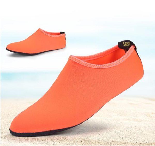 Chaussettes Aquatiques à Séchage Rapide Pieds - Natation - Plage - Surf Raton Malin Orange 35-36