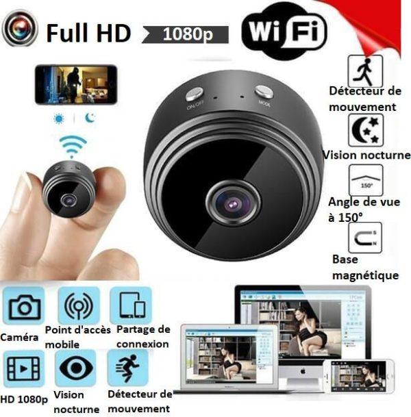 CA1copy Caméra Ip Full Hd Sans Fil