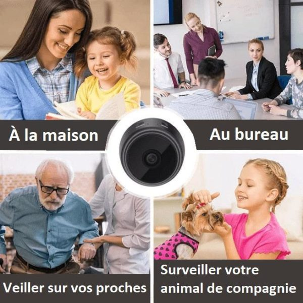CA3copy Caméra Ip Full Hd Sans Fil
