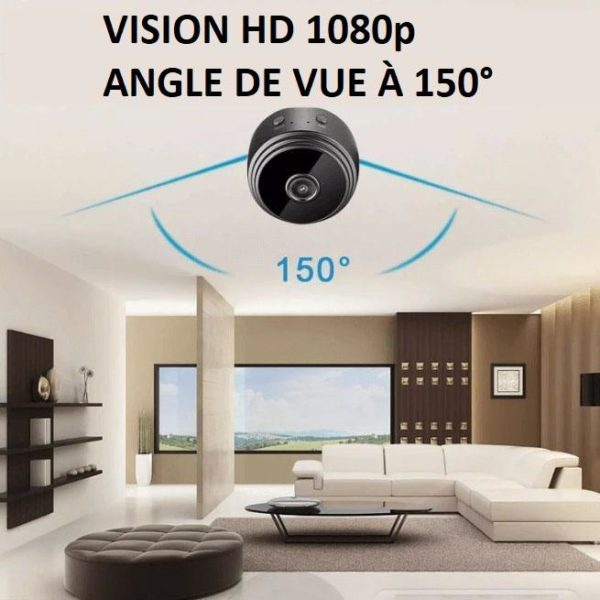 CA4copy Caméra Ip Full Hd Sans Fil