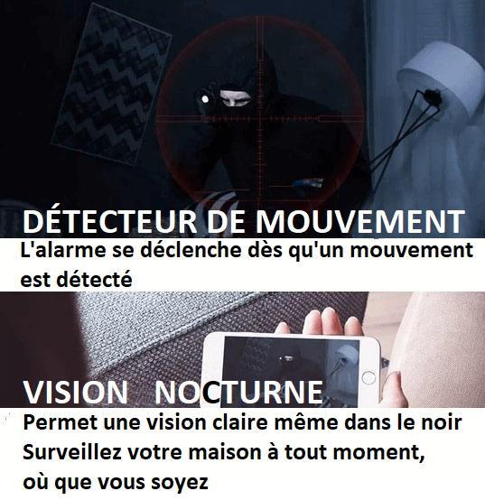 CA5copy Caméra Ip Full Hd Sans Fil
