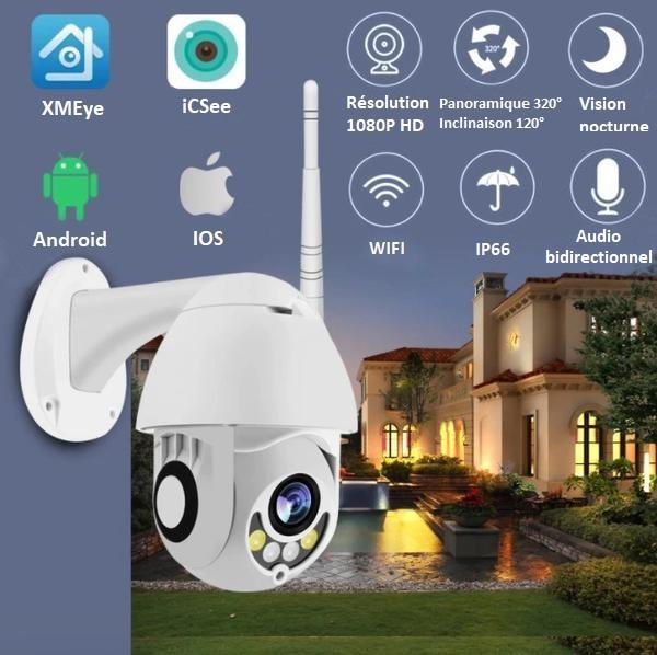 CAM11 4df5a3e9 7481 4eed 8e9a 0c86284ee78d Caméra De Surveillance Wifi - Sans Fil - Camsafe™