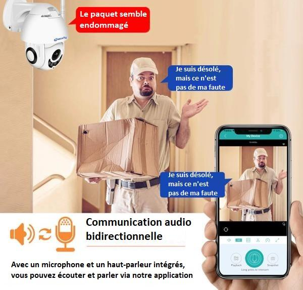 CAM7 3f3933c6 d0b1 4fa3 bc53 1830c14190ac Caméra De Surveillance Wifi - Sans Fil - Camsafe™
