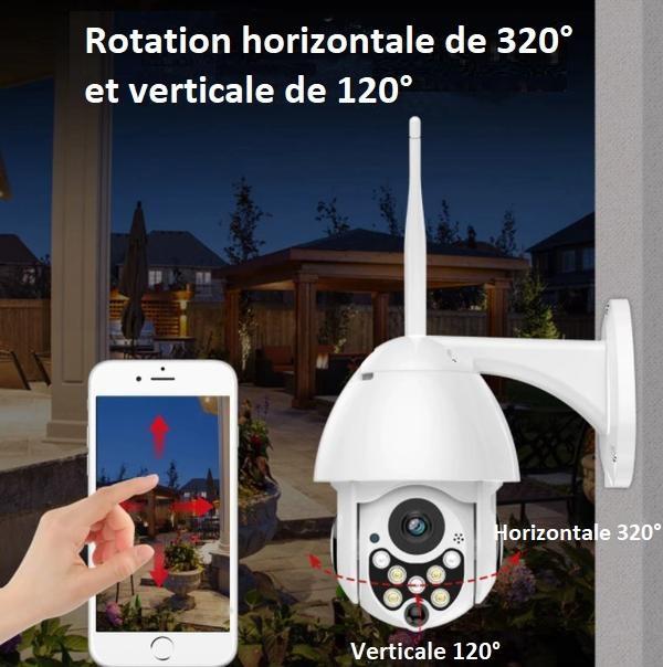 CAM9 4a49d3cf f2a0 47d1 aa0e 6e9e5bc6af2b Caméra De Surveillance Wifi - Sans Fil - Camsafe™
