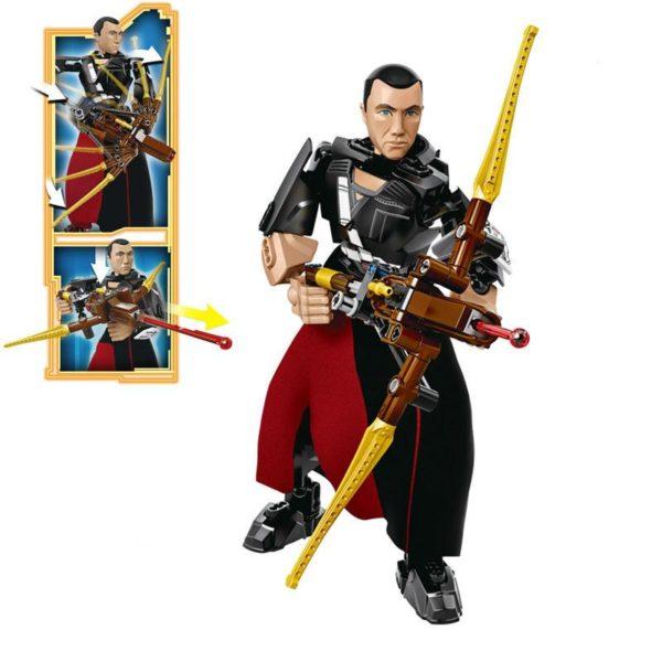 CHIRRUT IMWE 68c786ea ebdc 4cc5 a7b4 a4673d3b7a35 Lego Figurine Star Wars (Chirrut Imwe Kylo Ren Imperial Death Troop) - Livraison Gratuite !