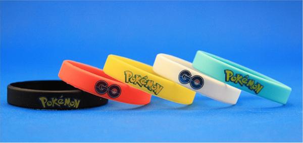 Capture Bracelet Pokémon Go Multicolore En Silicone - Livraison Gratuite !
